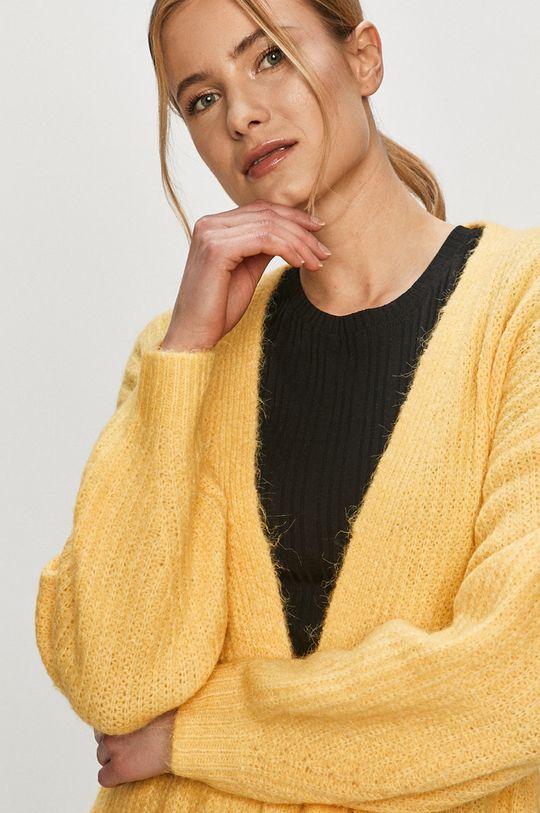 jasně žlutá Vero Moda - Kardigan