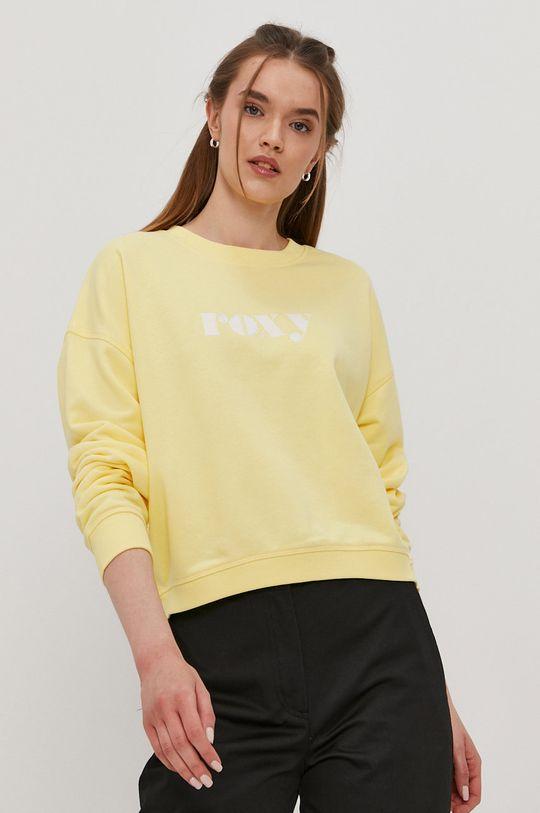 jasny żółty Roxy - Bluza Damski