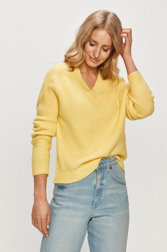 jasny żółty Jacqueline de Yong - Sweter Damski