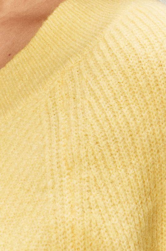 jasny żółty Jacqueline de Yong - Sweter