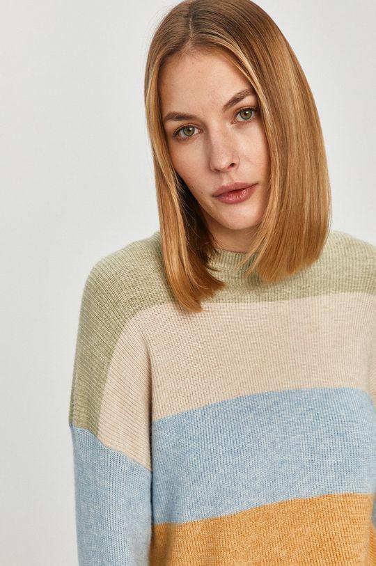 blady zielony Only - Sweter