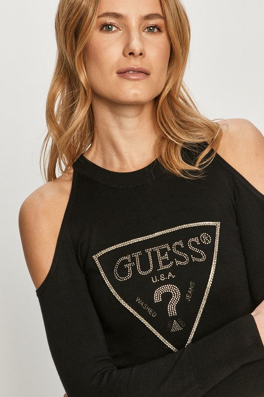 czarny Guess - Sweter
