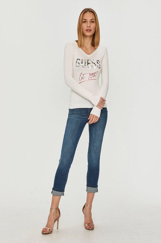 Guess - Sweter biały