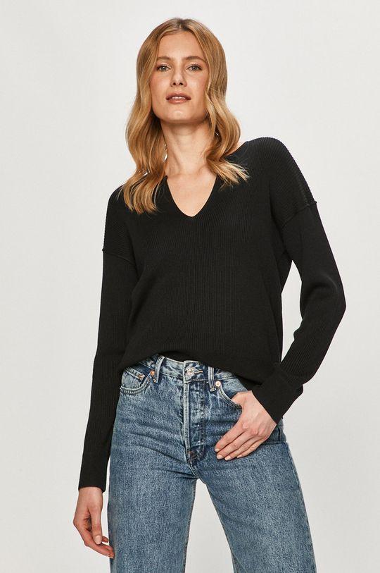 czarny Calvin Klein - Sweter Damski