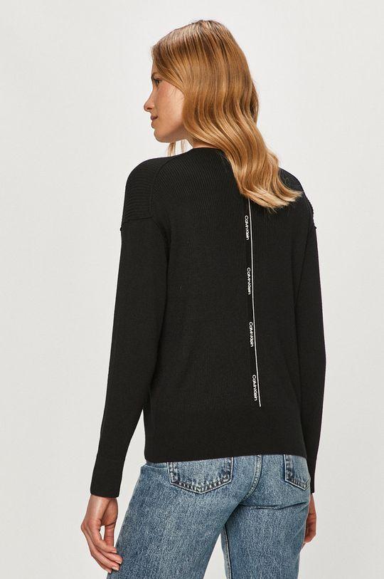 Calvin Klein - Sweter 41 % Poliester, 25 % Wełna, 34 % Wiskoza