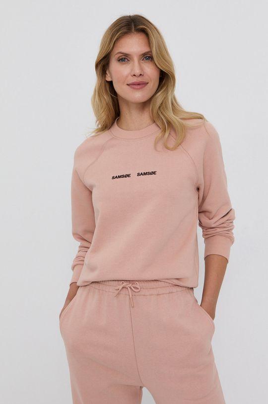 βρώμικο ροζ Samsoe Samsoe - Μπλούζα Γυναικεία