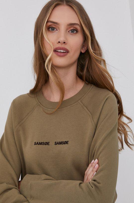 ανοιχτή ελιά Samsoe Samsoe - Μπλούζα