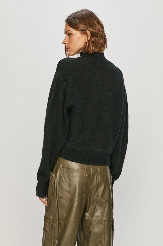 AllSaints - Sweter 26 % Akryl, 1 % Elastan, 38 % Poliamid, 10 % Wełna, 25 % Alpaka