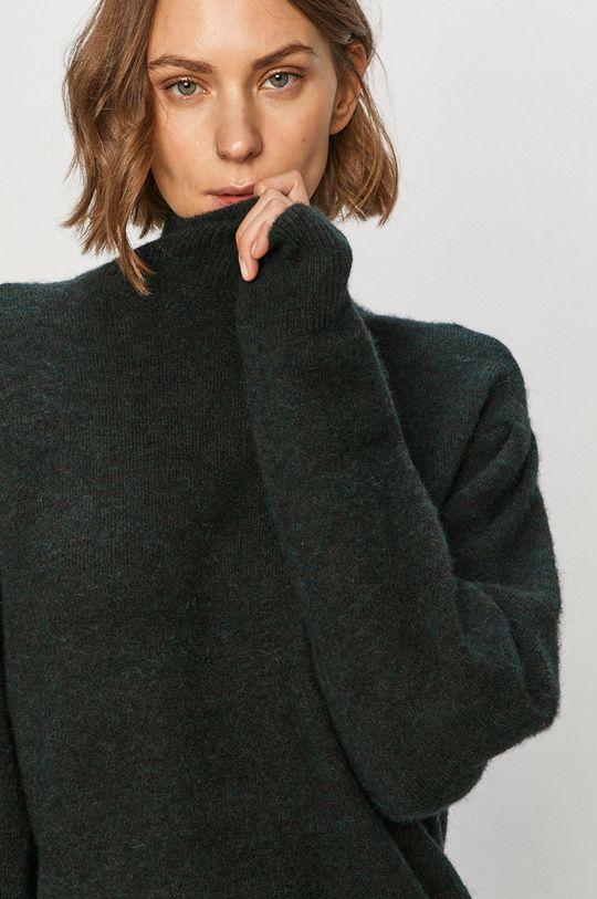 stalowy zielony AllSaints - Sweter