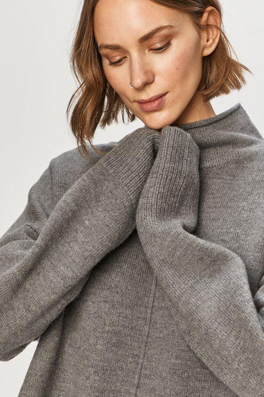 szary AllSaints - Sweter
