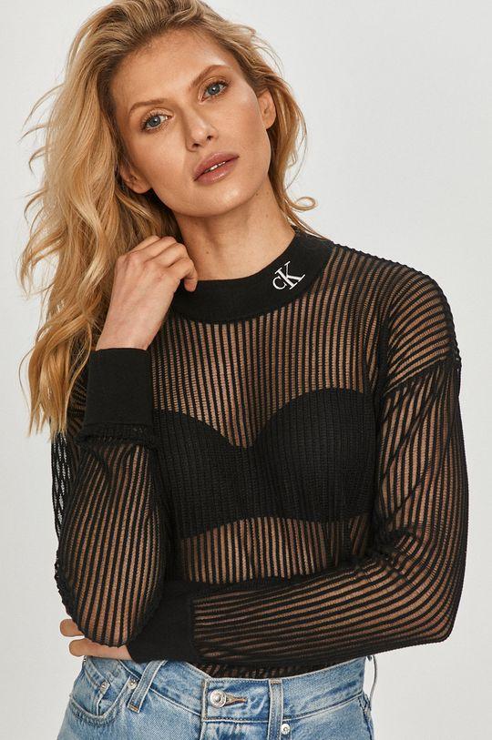 černá Calvin Klein Jeans - Svetr