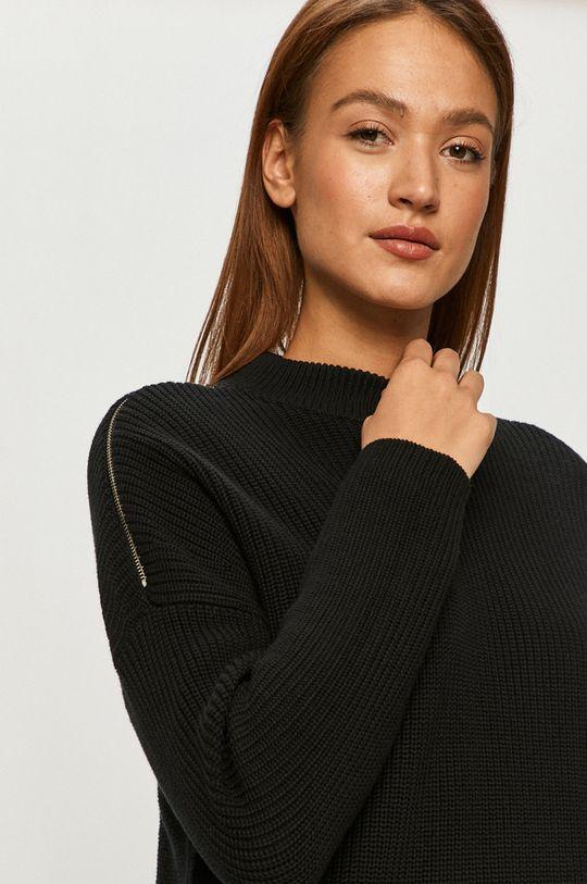 czarny Hugo - Sweter