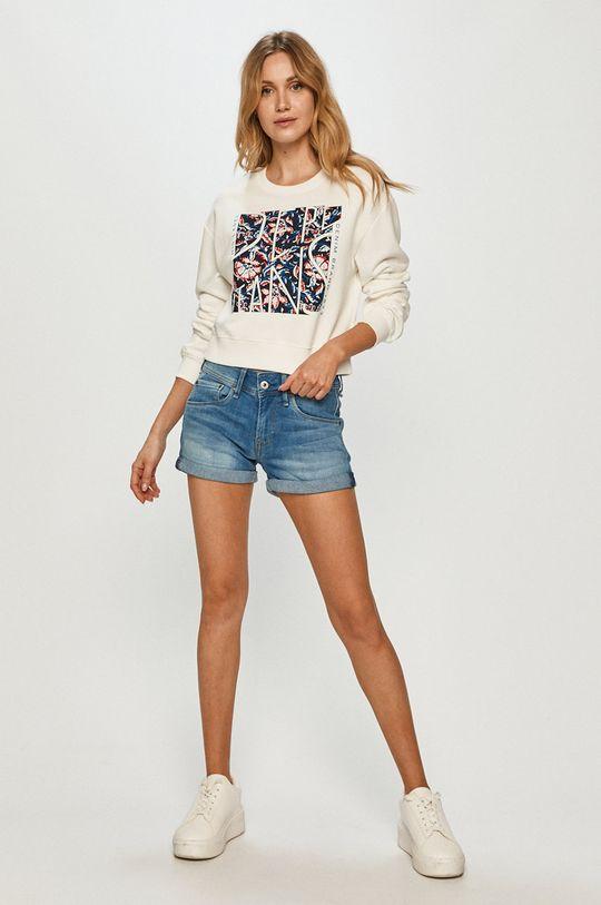 Pepe Jeans - Bluza bawełniana Bambie biały
