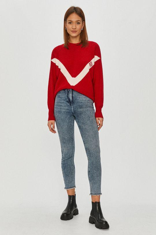 Red Valentino - Sweter czerwony