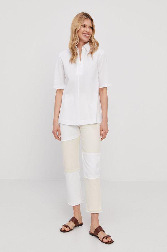 Max Mara Leisure - T-shirt biały