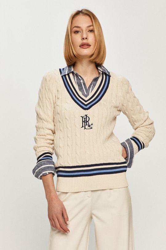 kremowy Lauren Ralph Lauren - Sweter