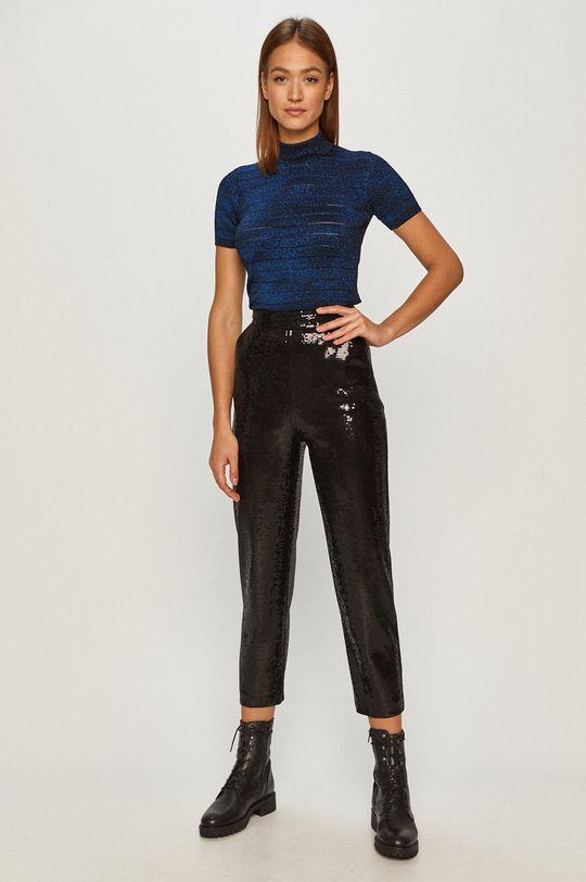 Karl Lagerfeld - Sweter niebieski