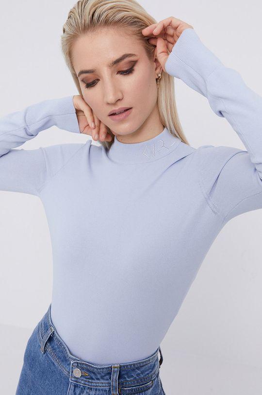 světle modrá Karl Lagerfeld - Svetr Dámský