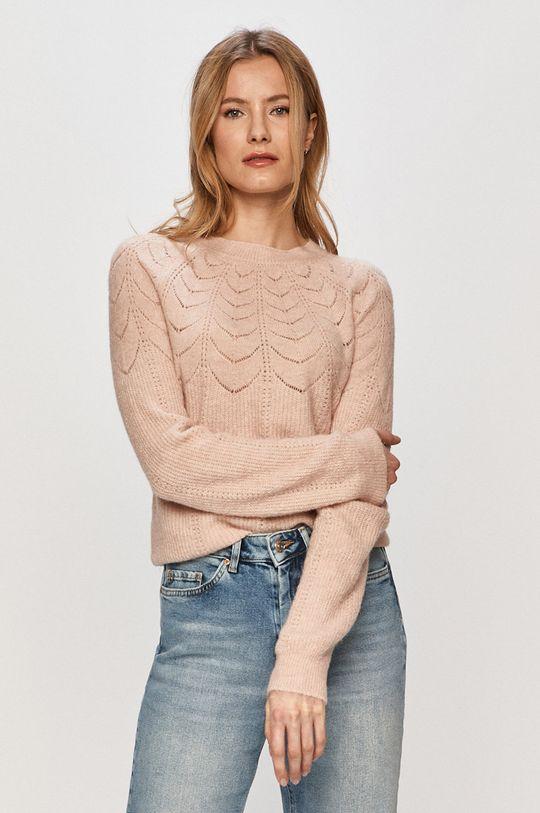 pastelowy różowy Vero Moda - Sweter Damski