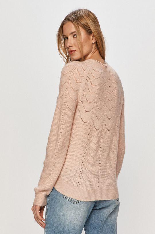 Vero Moda - Sweter 4 % Elastan, 30 % Nylon, 4 % Alpaka, 62 % Akryl z recyklingu