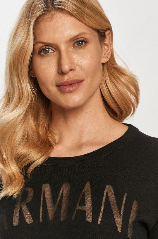 czarny Armani Exchange - Sweter