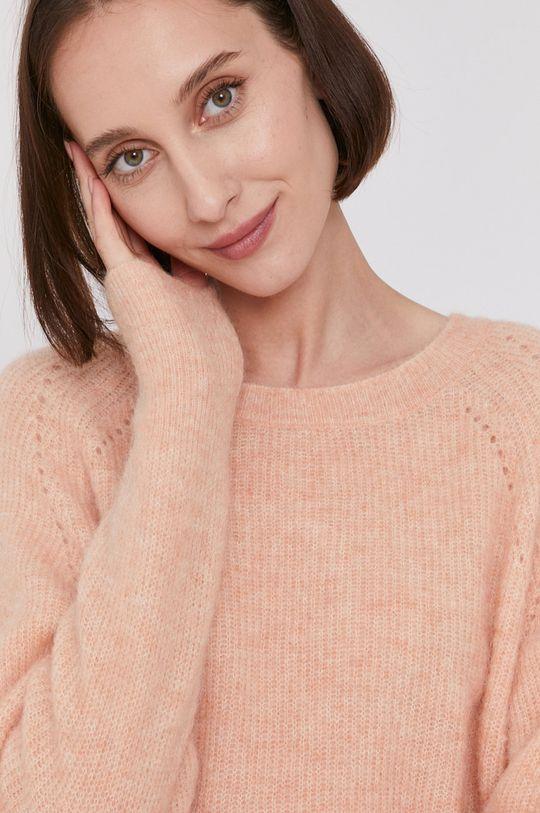 brzoskwiniowy Mos Mosh - Sweter