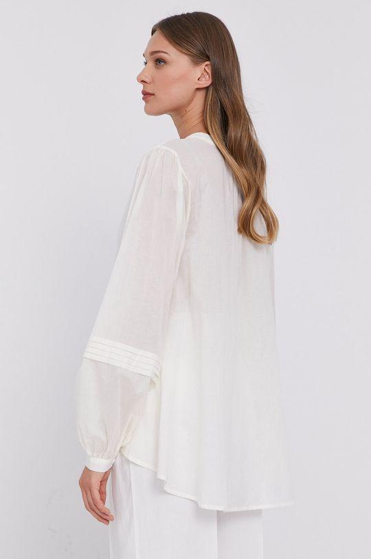 Twinset - Sweter Materiał 1: 43 % Bawełna, 52 % Len, 5 % Poliamid, Materiał 2: 100 % Bawełna