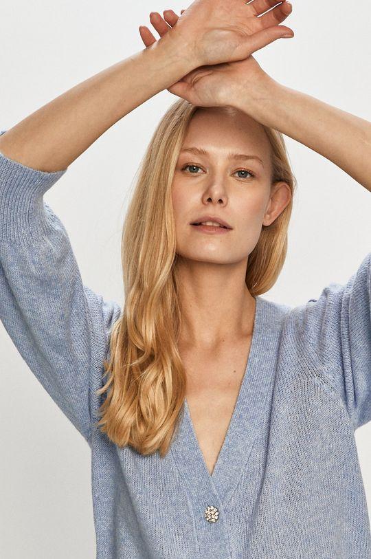 modrá Jacqueline de Yong - Kardigan