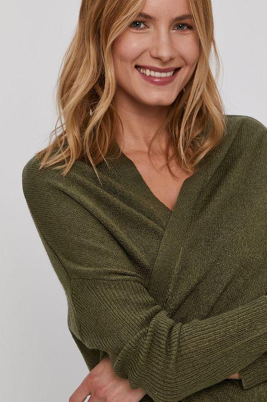 zielony Jacqueline de Yong - Kardigan