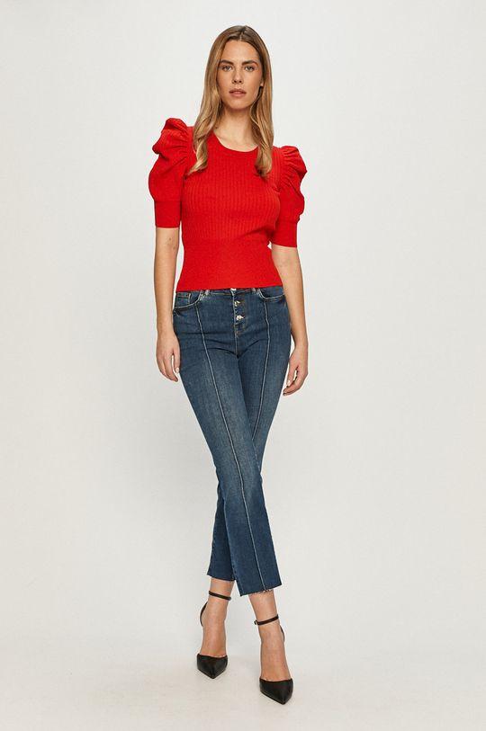 Morgan - Sweter czerwony