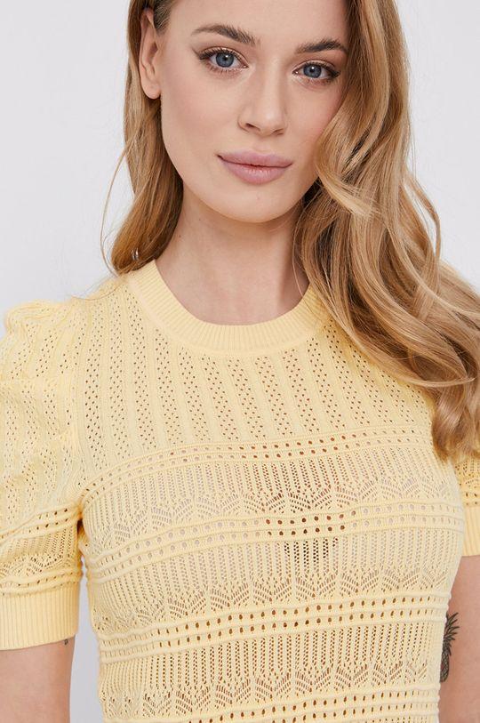 żółty Morgan - Sweter Damski