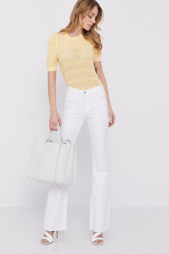 Morgan - Sweter żółty