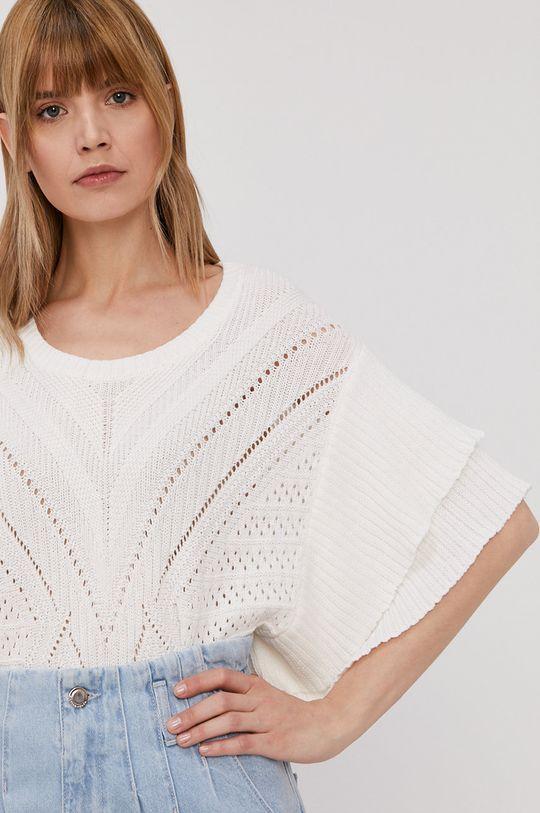biały Morgan - Sweter Damski