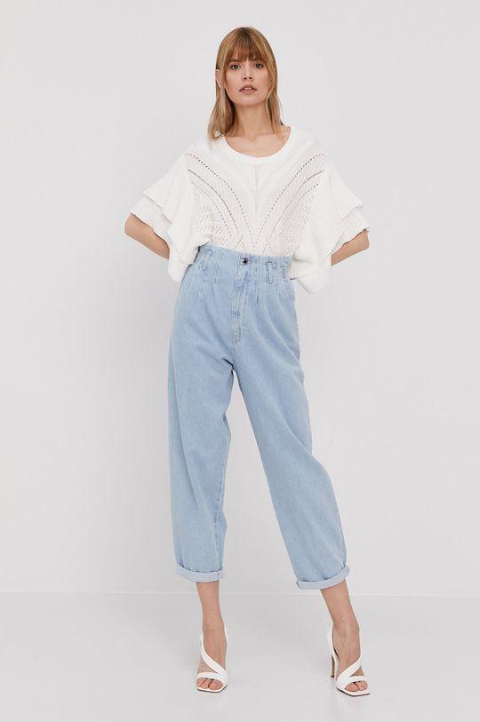 Morgan - Sweter biały