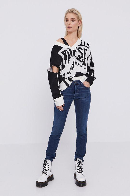 Diesel - Sweter czarny