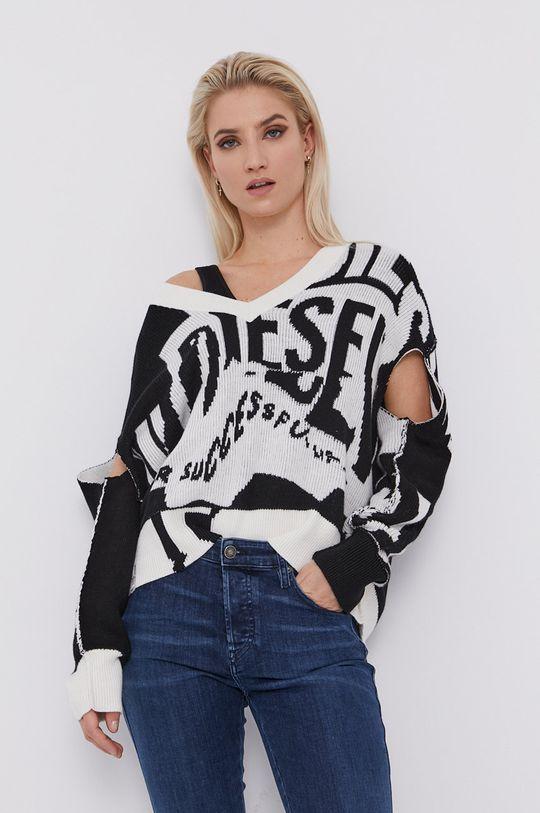 czarny Diesel - Sweter