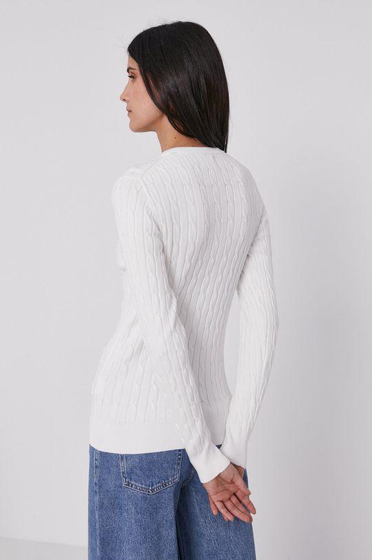 Gant - Sweter 88 % Bawełna, 2 % Elastan, 10 % Poliamid