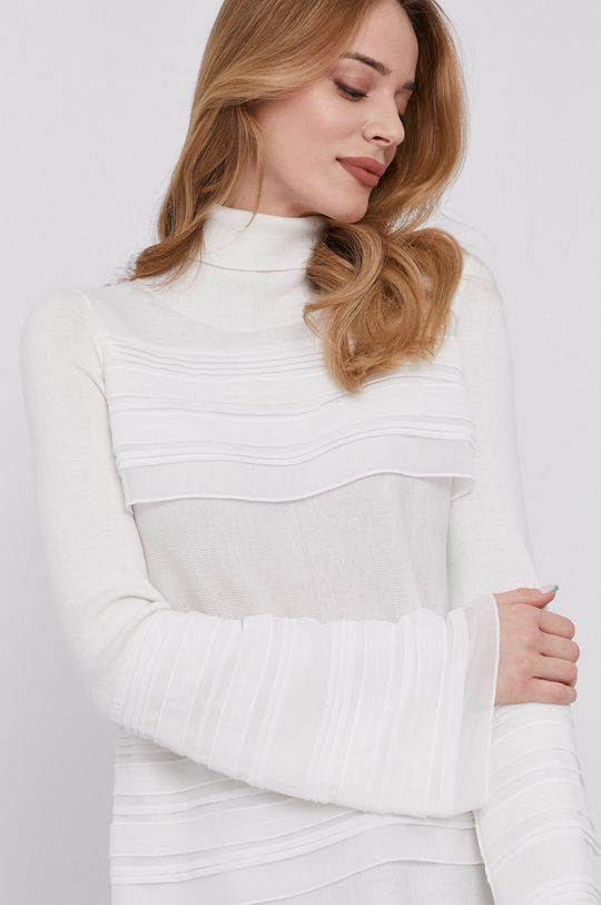 biały Patrizia Pepe - Sweter Damski