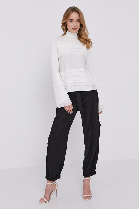Patrizia Pepe - Sweter biały