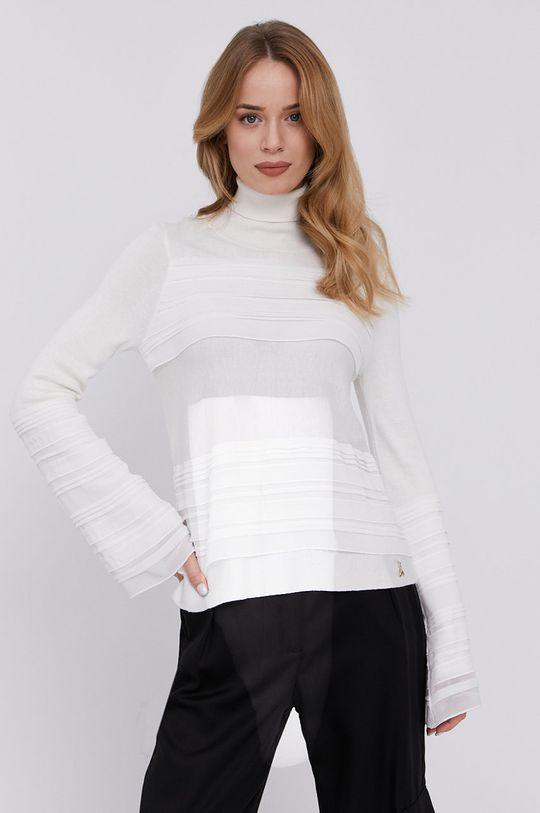 biały Patrizia Pepe - Sweter
