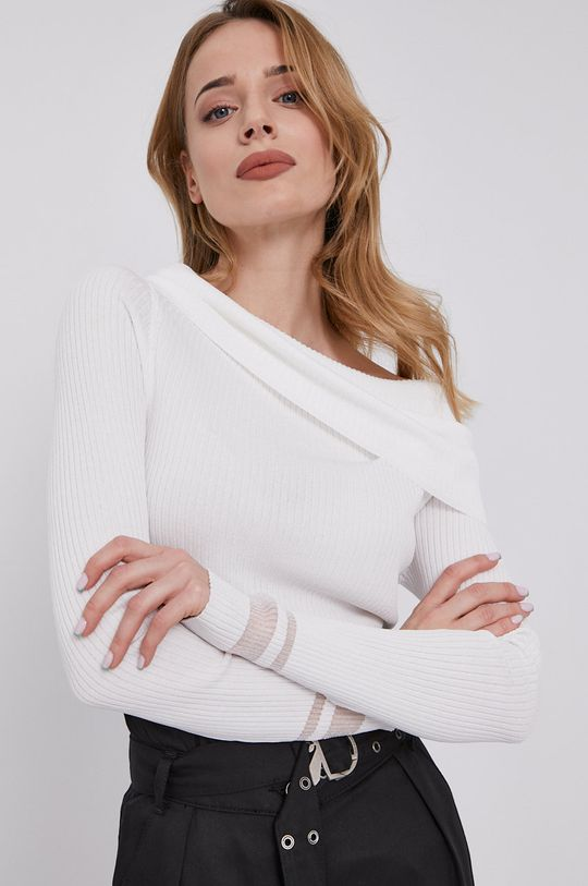 alb Patrizia Pepe - Pulover De femei