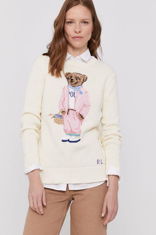 Polo Ralph Lauren - Sweter kremowy