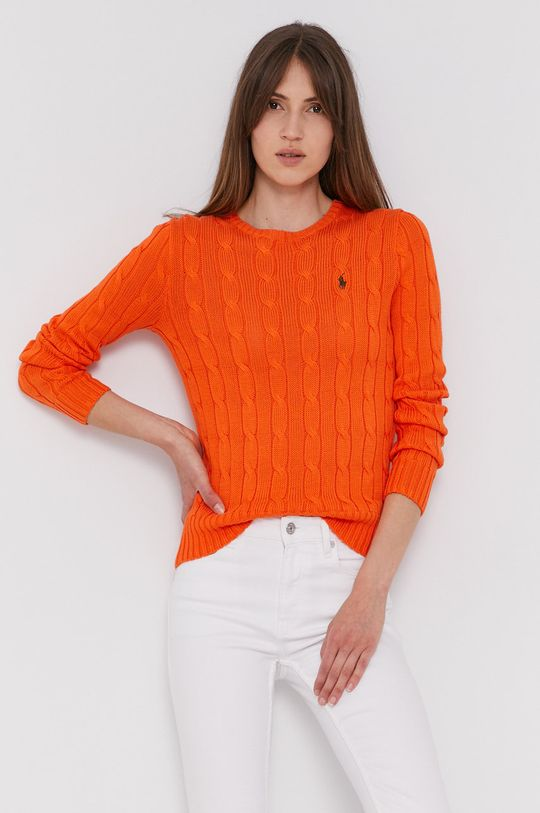 oranžová Polo Ralph Lauren - Svetr Dámský