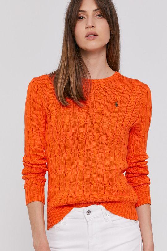 oranžová Polo Ralph Lauren - Svetr
