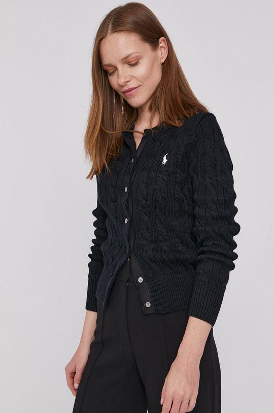 czarny Polo Ralph Lauren - Sweter Damski