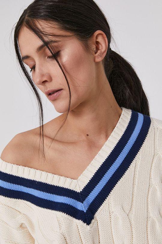 kremowy Polo Ralph Lauren - Sweter