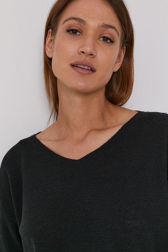 czarny United Colors of Benetton - Sweter