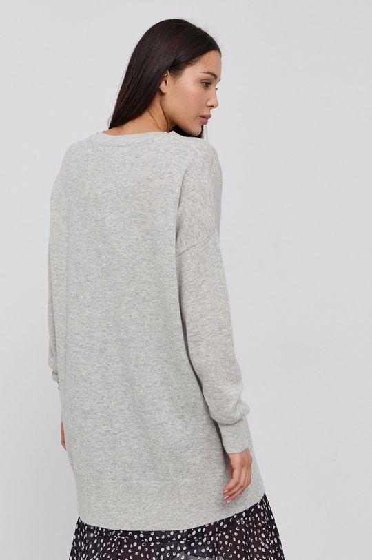 Karl Lagerfeld - Vlnený sveter  30% Kašmír, 70% Vlna