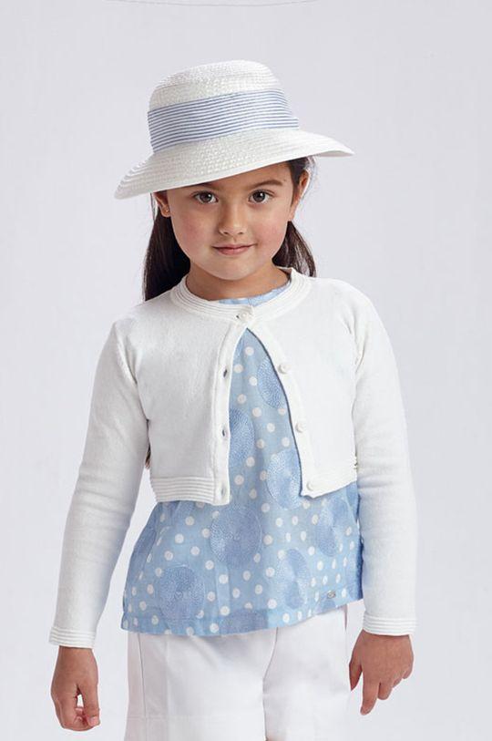 biały Mayoral - Kardigan dziecięcy Dziewczęcy