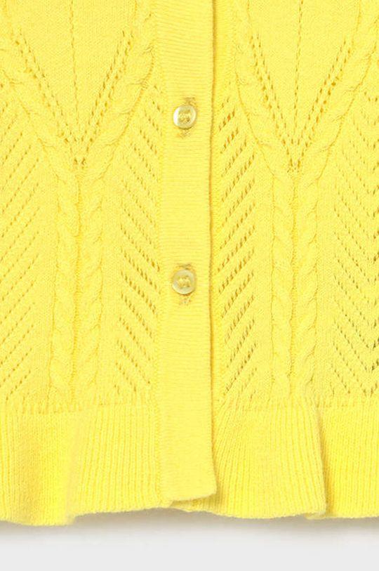 Mayoral - Detský sveter  81% Bavlna, 1% Elastan, 5% Polyamid, 10% Polyester, 3% Metalické vlákno